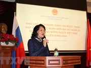 Vice President meets overseas Vietnamese in Russia