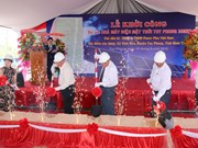 Work starts on first solar power plant in Binh Thuan