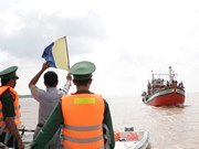 Coastal provinces coordinate in monitoring fishing boats