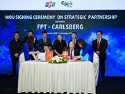 FPT becomes Carlsberg's technology partner