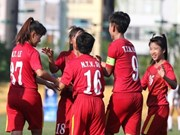Vietnam U-16 crush Lebanon 7-0 at AFC women's champs