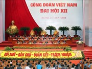12th Vietnam trade union congress kicks off in Hanoi