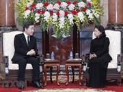 Acting President receives RoK Prime Minister