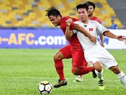 Vietnam draw with Indonesia at AFC U16 Champs