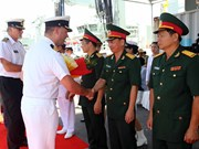 Royal Canadian Navy's ships visit Da Nang city