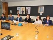 Hanoi delegation concludes Australia visit
