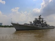 Indian navy's ship makes friendship visit to Vietnam