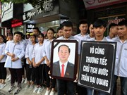 President Tran Dai Quang in people's heart