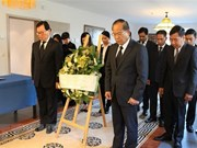 President Tran Dai Quang remembered in Europe