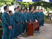 Rioters in Binh Thuan receive jail sentences