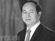 Foreign leaders mourn President Tran Dai Quang