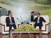 Vietnamese, Chinese Party officials discuss bilateral ties