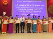 Winners of writing contest on Vietnam – Japan ties honoured