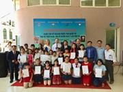 Winners of Vietnam-Russia painting contest honoured