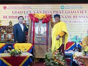 Buddhist cultural exchange of Vietnam, Russia, India held in Moscow