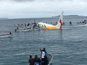 Four Vietnamese aboard Papua New Guinea's plane overshooting runway