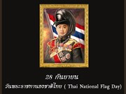 Thailand celebrates Thai National Flag Day