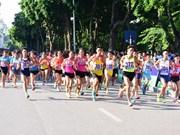 Luat of Border Guards team wins Hanoi Moi race