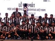 Juventus football academy in Vietnam opens