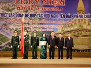 Yen Bai, Vientiane provinces mark 10 years of cooperation, friendship