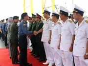 Bruneian naval ship pays three-day visit to Da Nang