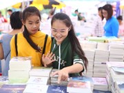 Hanoi Book Festival kicks off at Thang Long Imperial Citadel