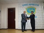 Vietnam's Ambassador to Ukraine honoured by World Jurist Alliance