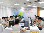 Cyber security contest in Hanoi