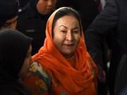 Wife of former Malaysian PM charged with money laundering
