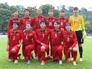 Vietnam's female football team rise one step in FIFA rankings