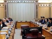HCM City, UK promote cooperation between elected agencies