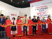 Vietnam-RoK design centre inaugurated in Hanoi