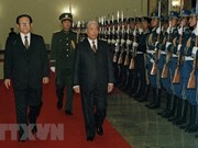 Party General Secretary Do Muoi's imprint on foreign policies