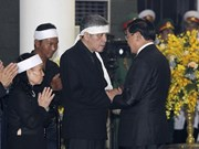 Foreign delegations pay last respect to former Party chief Do Muoi