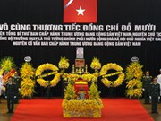 State funeral begins for former Party General Secretary Do Muoi