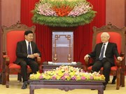 Vietnam always treasures special ties with Laos: Party leader