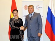 Top Vietnamese legislator meets Chairman of Russia's State Duma