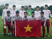 Vietnam's U17 team ranks 4th in Jenesys football tournament