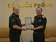 Vietnam, Russia tighten cooperation in peacekeeping activities