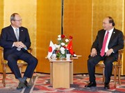 PM calls for Japanese firms' help in supporting, high-tech industries