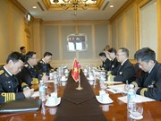 Naval commander holds bilateral meetings on sidelines of WPNS