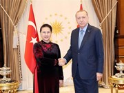 NA Chairwoman meets with Turkish President