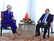 PM Nguyen Xuan Phuc meets IMF Managing Director in Bali