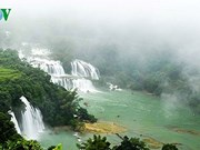 Cao Bang kicks off Ban Gioc waterfall tourism festival
