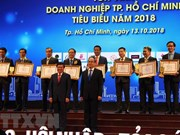 HCM City honours outstanding firms, businessmen