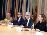 PM meets ministers of Belgium's Flanders, Wallonia regions