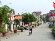 Hanoi's rural development efforts improve local living standards