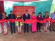 Azerbaijan helps build school in mountainous province