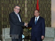 PM meets former Belgian Foreign Minister