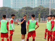 Indonesia tightens security for Vietnam-Jordan match at AFC U19 champs